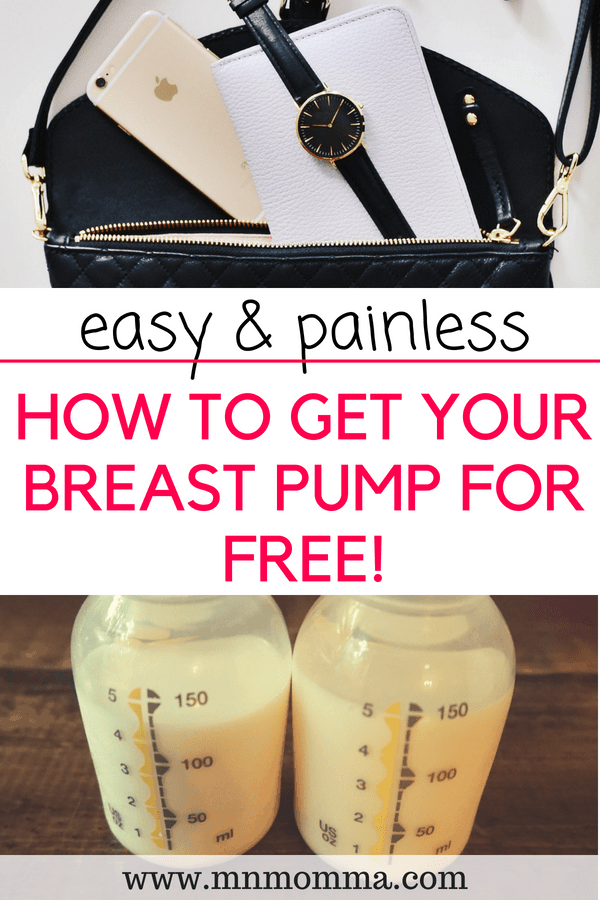 How to Get Your Breast Pump for Free - Mom tips!