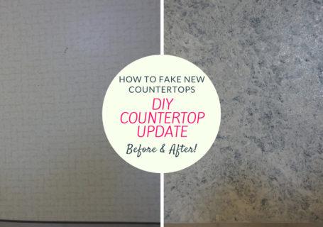 diy countertop update