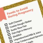 pregnancy foods to avoid freebie