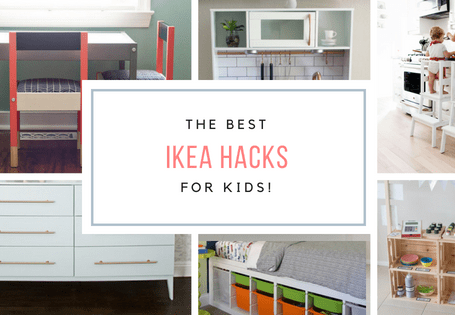 Ikea Hacks for Kids - The Best IKEA Hacks for playrooms and kid's rooms!