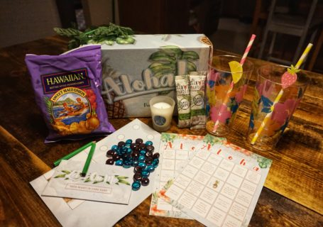 Date Night In Box Review - Aloha themed
