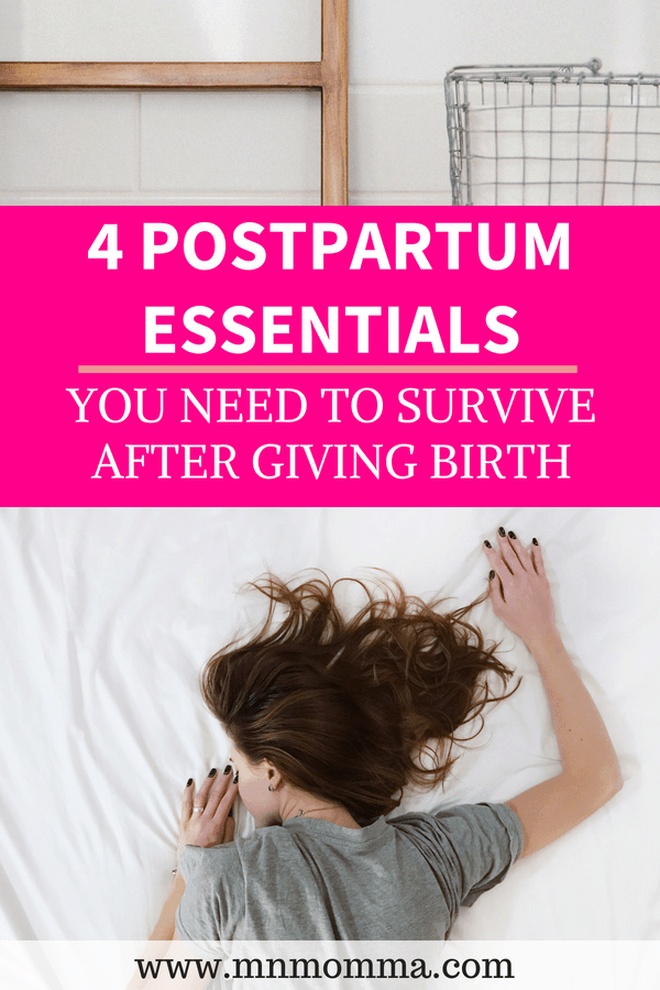 Postpartum Essentials For New Moms After Birth
