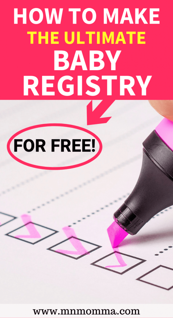 How to Make an Amazon Baby Registry for Free!