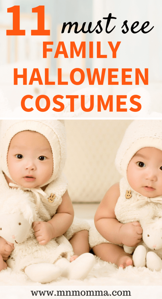 Family Halloween Costumes With Baby and Kids!