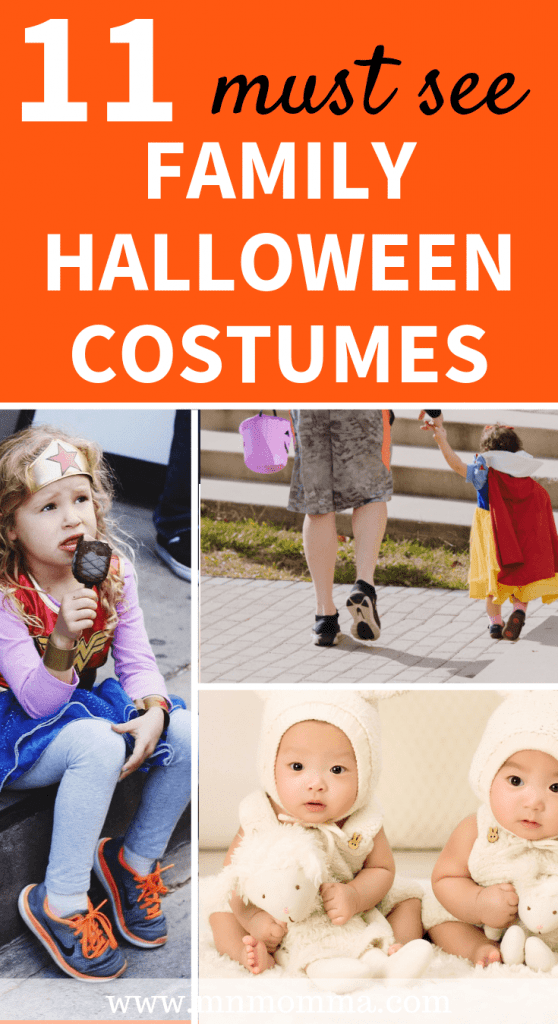 Family Halloween Costumes - Ideas with baby and with kids!