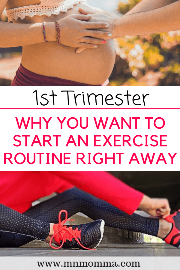 1st Trimester Exercise Routine While Pregnant - How to Workout During Pregnancy (and why you should!)