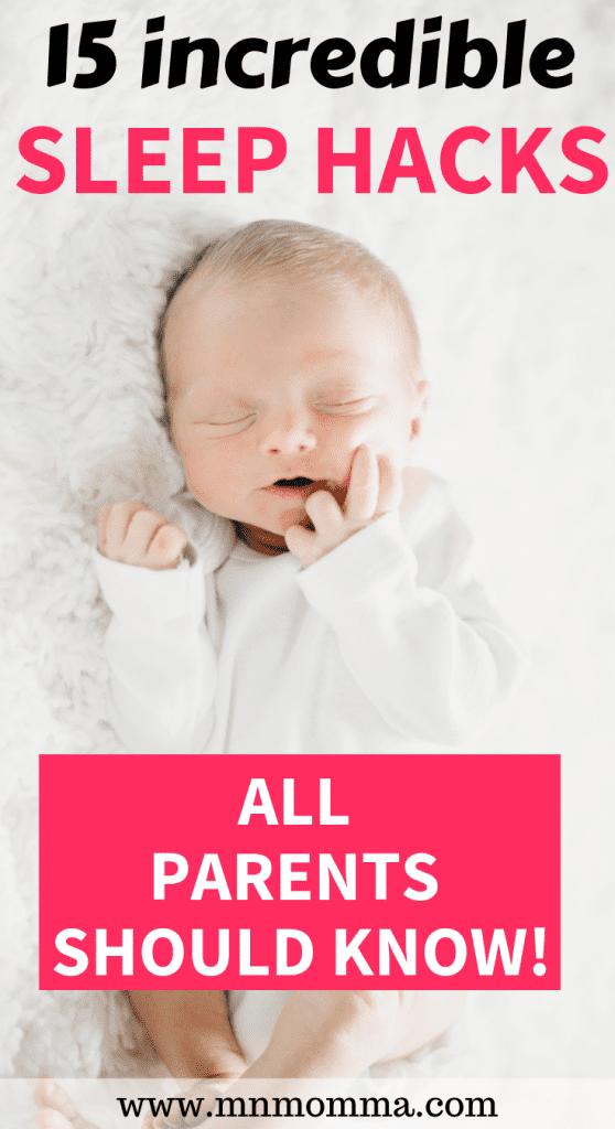 Baby Sleep Tips to Get Your Baby To Sleep Better.
