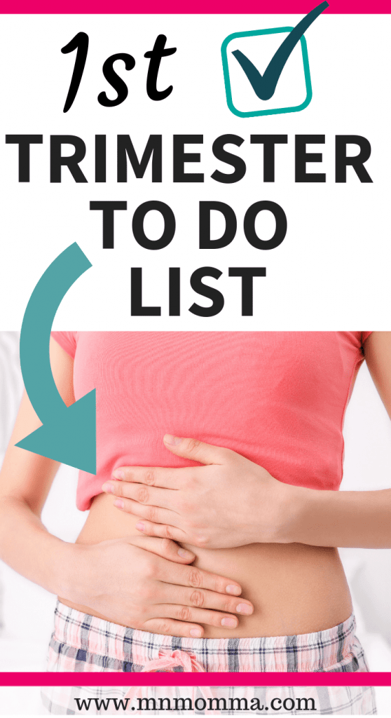 First Trimester Pregnancy To Do List