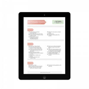 3rd trimester pregnancy checklist